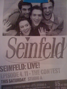 Seinfeld Live!: fundraiser for Carnegie Mellon's Senior Showcase